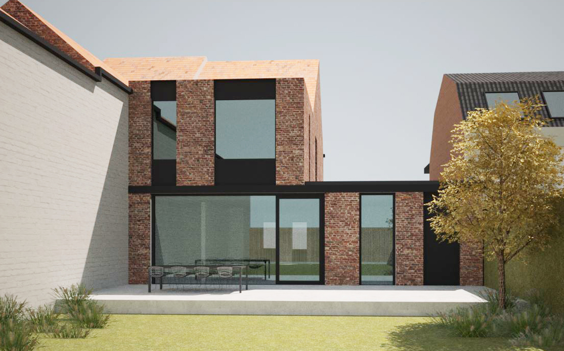 architect roeselare - project 66